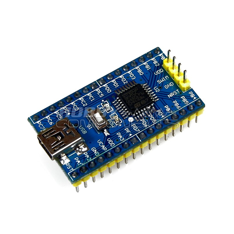 STM8 S105K4T6 Development Board