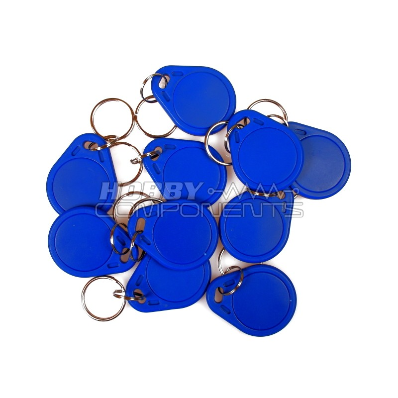 13.56MHz RFID (IC) Keyfob (Set of 10)