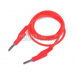 High quality silicone banana 4mm test lead (Red)