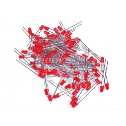 3mm Red LED's (Pack of 100)