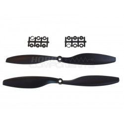 "Nylon 1045 10"" x 4.5"" propeller set"