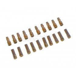 3.5mm Gold Plated Bullet / Banana Connectors (10 Sets)