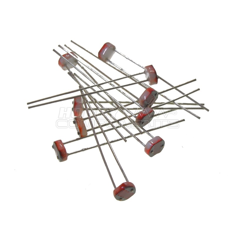 Photo Resistor / Light Dependent Resistor LDR (Pack of 10)