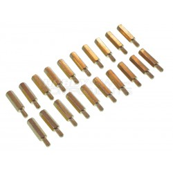 15mm M3 Hex pillars / Standoffs (Pack of 20)