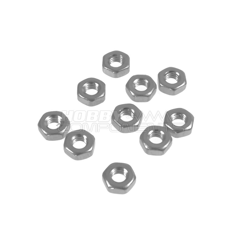 M3 Steel Nut (Pack of 10)