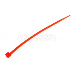 4 Inch Cable Ties RED (Pack of 100)