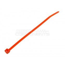 4 Inch Cable Tie BURNT ORANGE (Pack of 100)