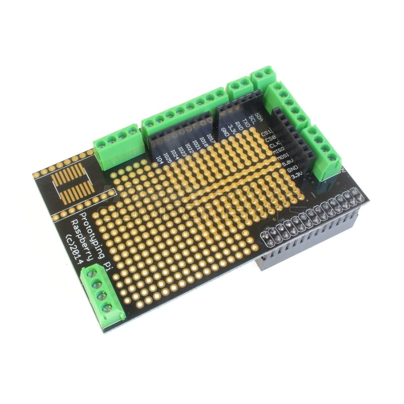 Pi Plate Prototyping Board For Raspberry Pi