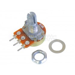 Panel mountable 10K potentiometer