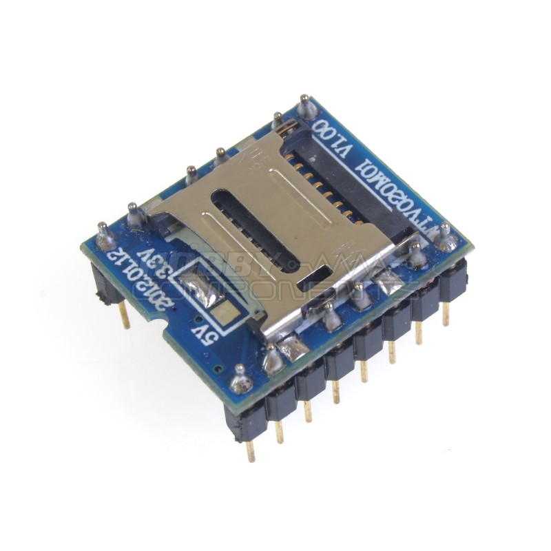 WTV020 Based MP3 Type Audio playback Module