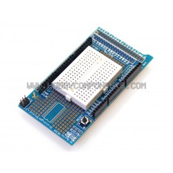 Arduino compatible MEGA Prototype Shield ProtoShield V3 Expansion Board with Mini Bread Board