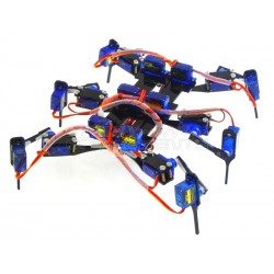 Hexapod4 18 DOF six leg robotic spider frame and servo bundle