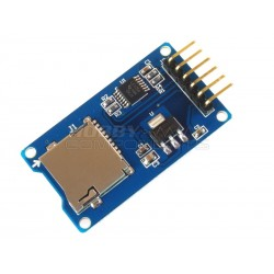MicroSD Card Adapter With Level Shifters