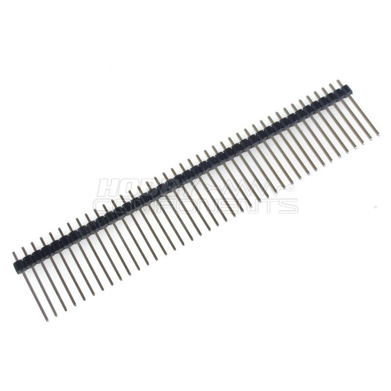 40 Pin 2.54mm 20mm Long Header Pins Male