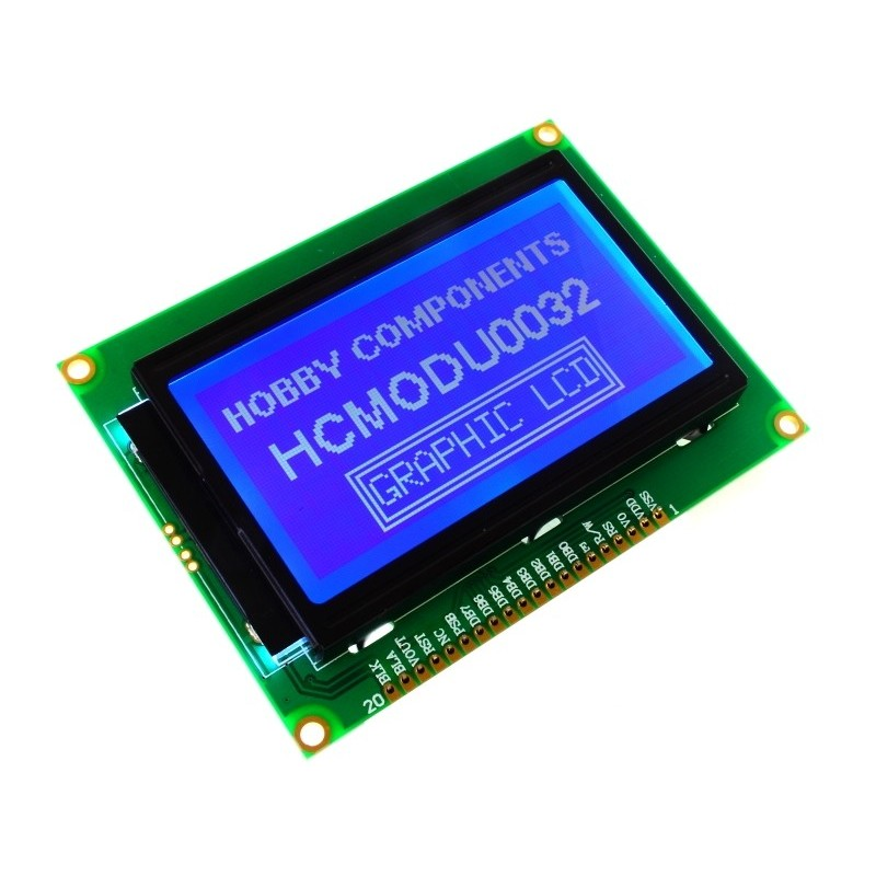 12864B Parallel/Serial Graphic LCD Module