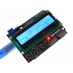LCD Keypad Shield for Arduino 16x02