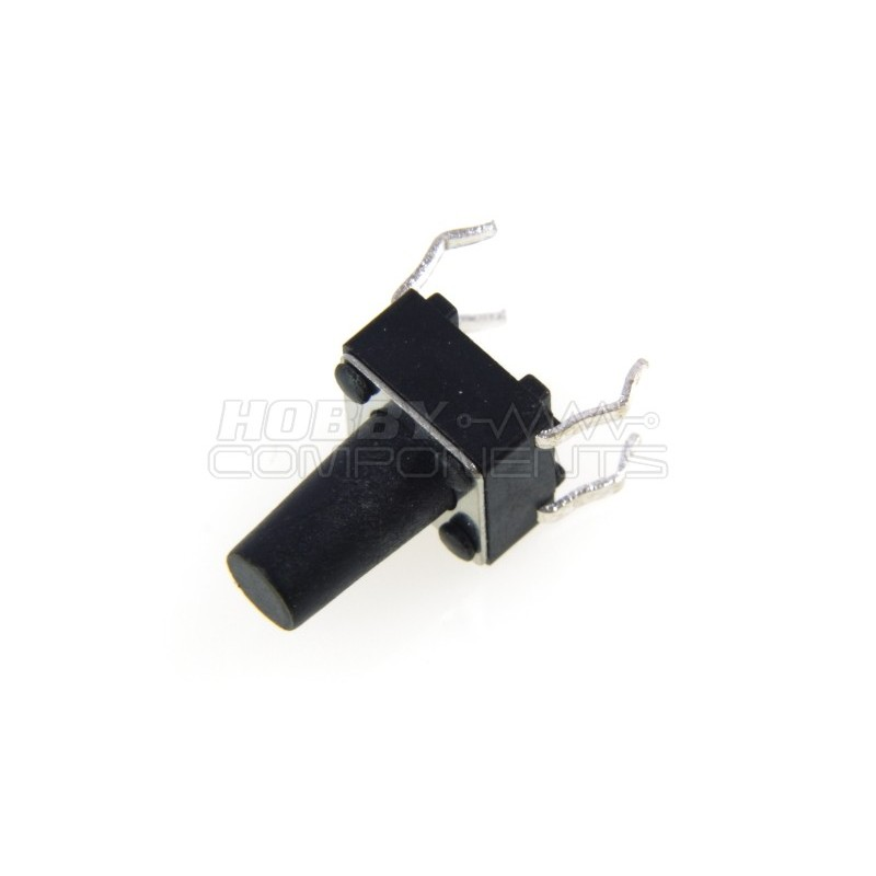 4-Pin 6x6mm Tact Switch with Extended Button