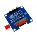"1.3"" SH1106 uOLED Display Module (Blue)"