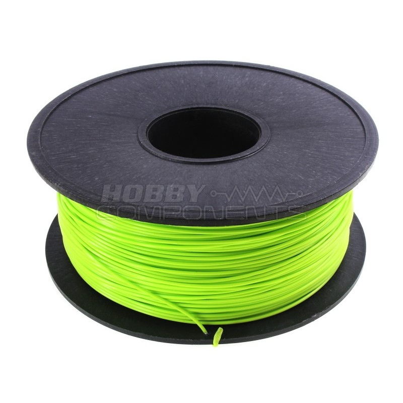 PLA filament for 3D Printing 1.75 mm Flourescent Green