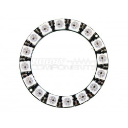 45mm WS2812B 16 RGB LED Ring