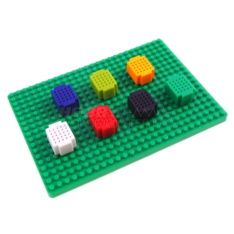 Breadboard base panel for mini breadboards (mini breadboards sold separately)