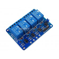 4-Channel 5V Relay Module Expansion Board
