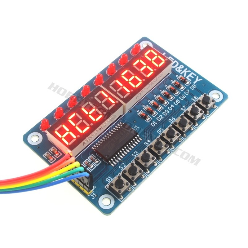TM1638 7 Segment Display & Keypad