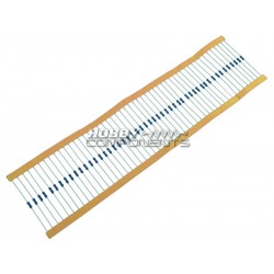 1/4W Wire Ended Resistors - Choose Value and Quantity