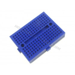 170 Point Mini Breadboard in Various Colours