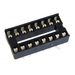 0.3 Inch DIL IC Socket 16 Pin (Pack of 5)