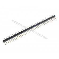Single Row 40-Pin 2.54mm Pitch Pin Headers