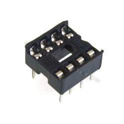 0.3 Inch DIL IC Socket 8 Pin (Pack of 5)