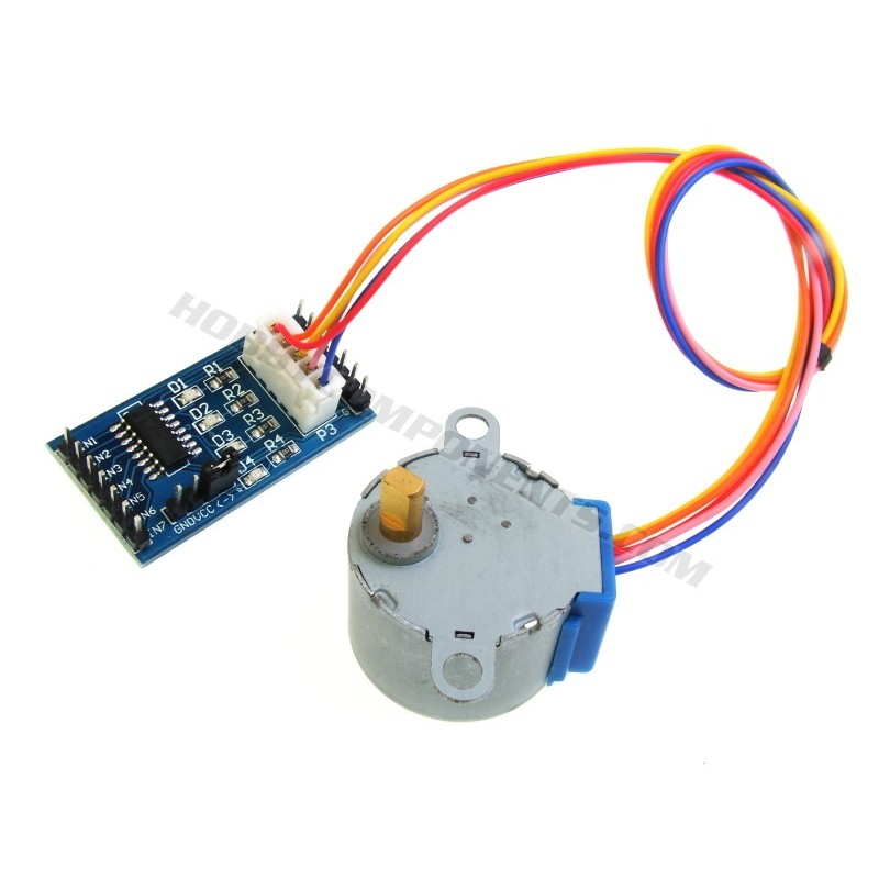Stepper Motor and ULN2003 Driver Board