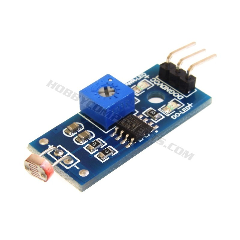 Photosensitive Resistance Sensor Module