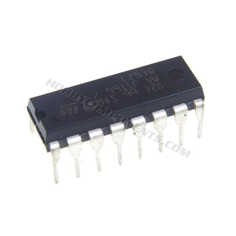 Lm556 Dual Timer together with Motor Driver Ic L293d Wikipedia further L293d Wiring Diagram as well 40 further Sn754410 H Bridge Motor Driver Stepper Motor 1a  patible L293d. on l293d quadruple half h dc motor driver
