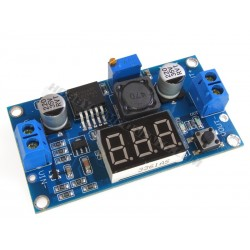 LM2596 DC-DC Step-down PSU with voltage meter