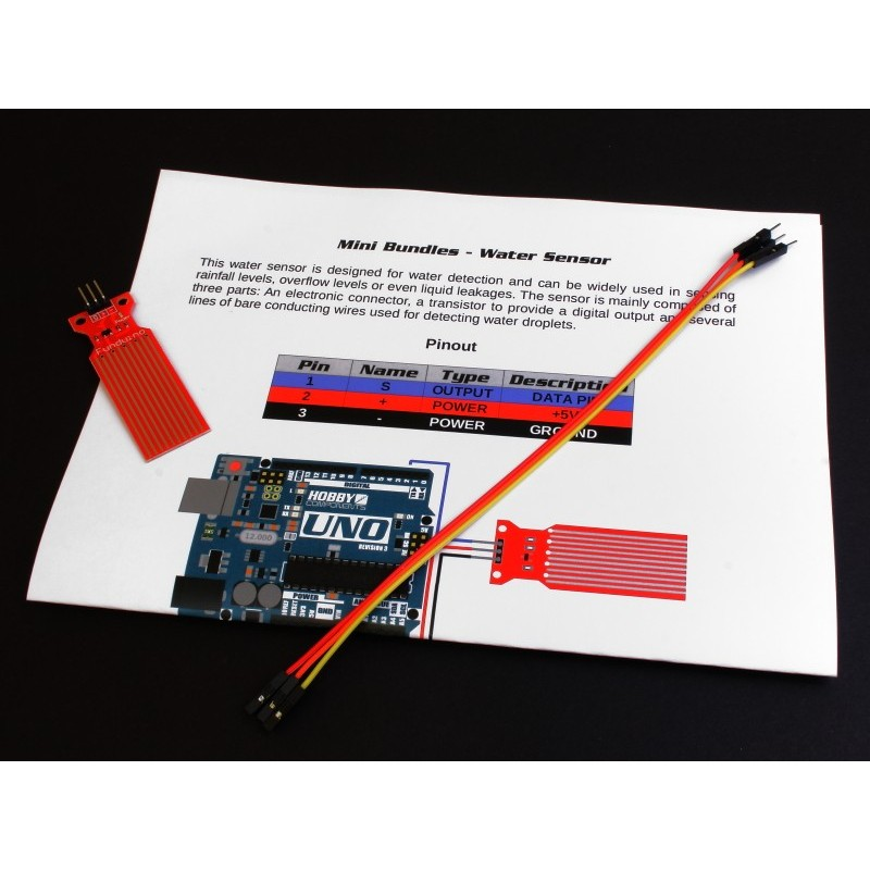 Hobby Components Mini Bundles - Water Sensor