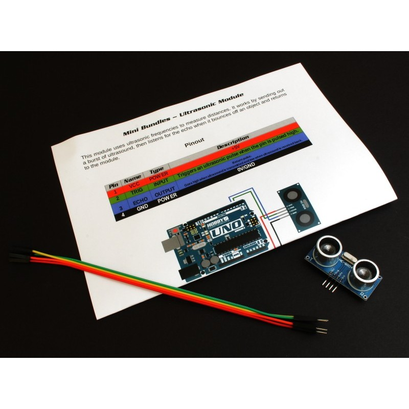 Hobby Components Mini Bundles - Ultrasonic Module