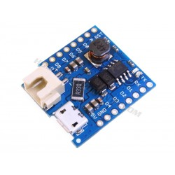WeMos D1 Mini Lithium Battery Shield