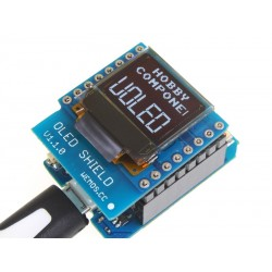 WeMos D1 Mini OLED Shield