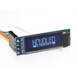 "0.9"" 128 x 32 Serial I2C uOLED Display (White)"