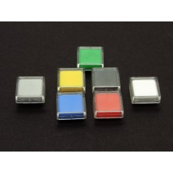 12mm Switch Cap with Transparent Cover (Various Colours Available)