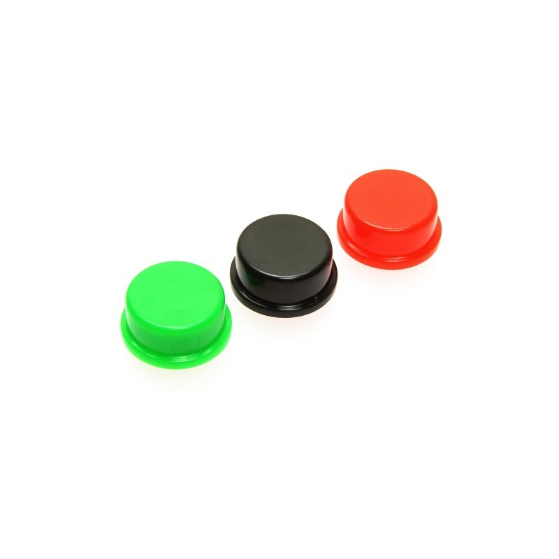 Round 12mm Switch Cap (Various Colours Available)