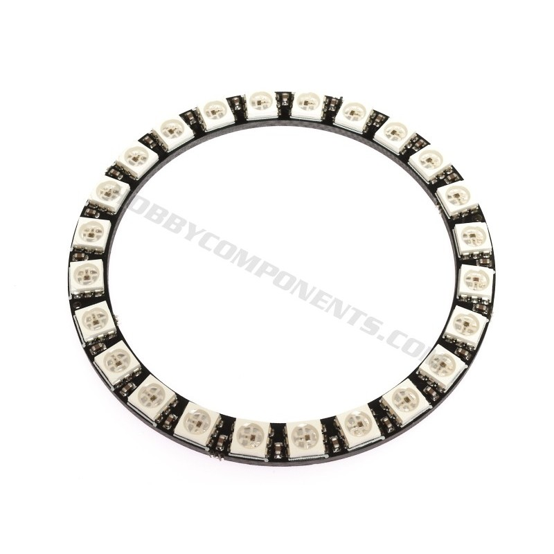 66mm WS2812B 24 RGB LED Ring