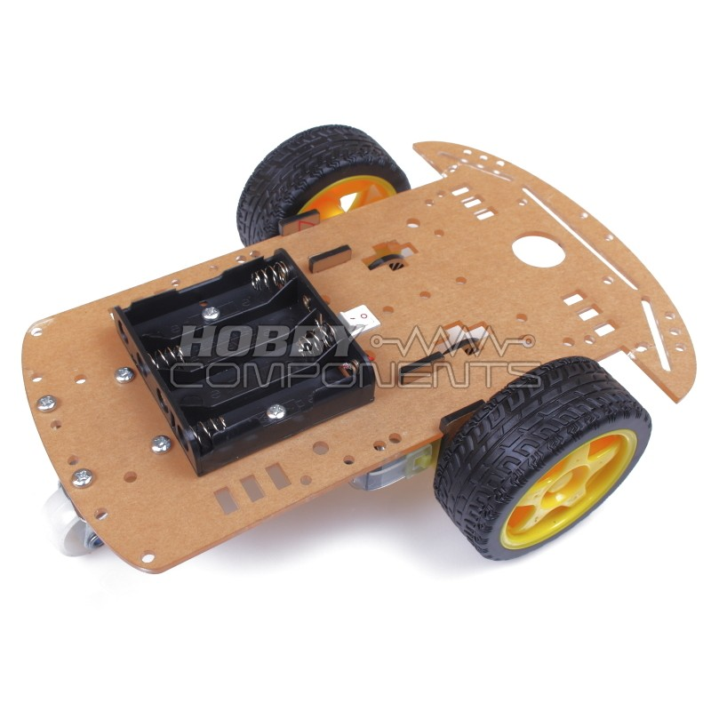 Smart Robot Car Chassis Kit with Speed Encoder and Battery Box