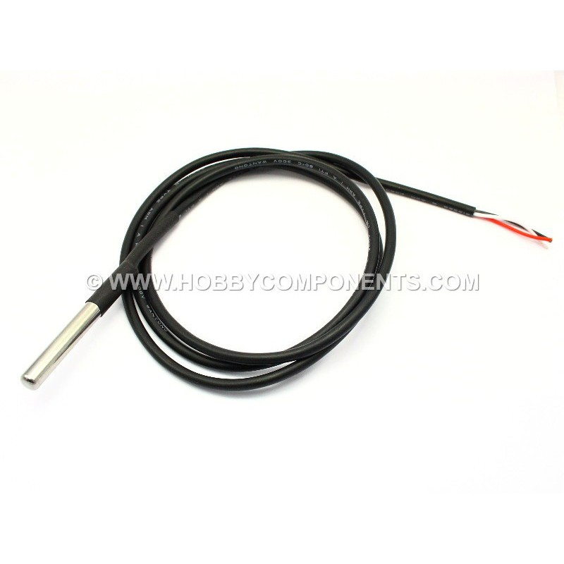 Waterproof DS18B20 temperature sensor probe