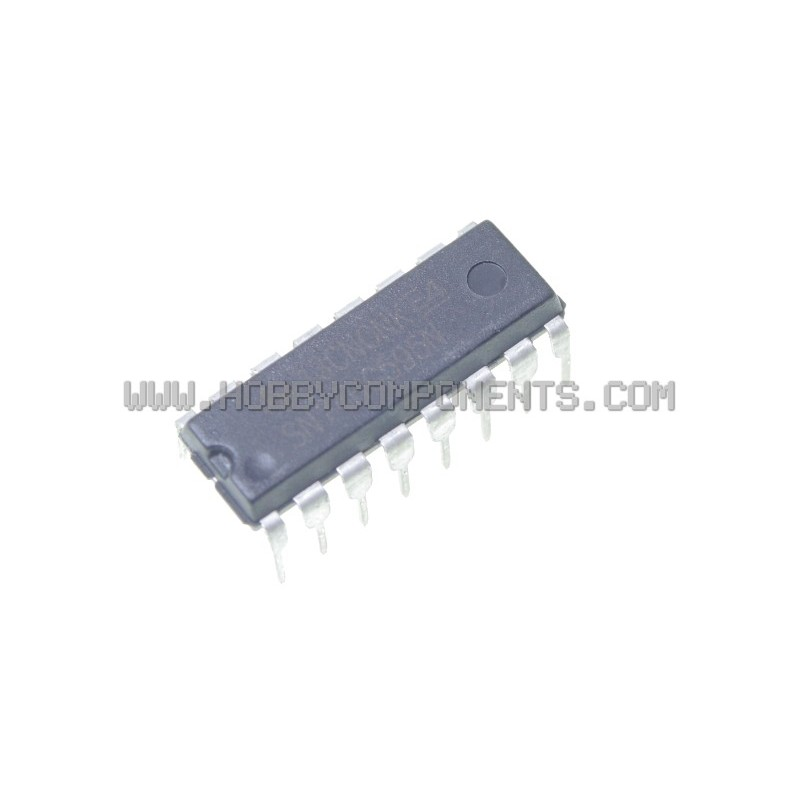 74HC595 8 bit Serial Shift Register (DIP 16) (Pack of 5)