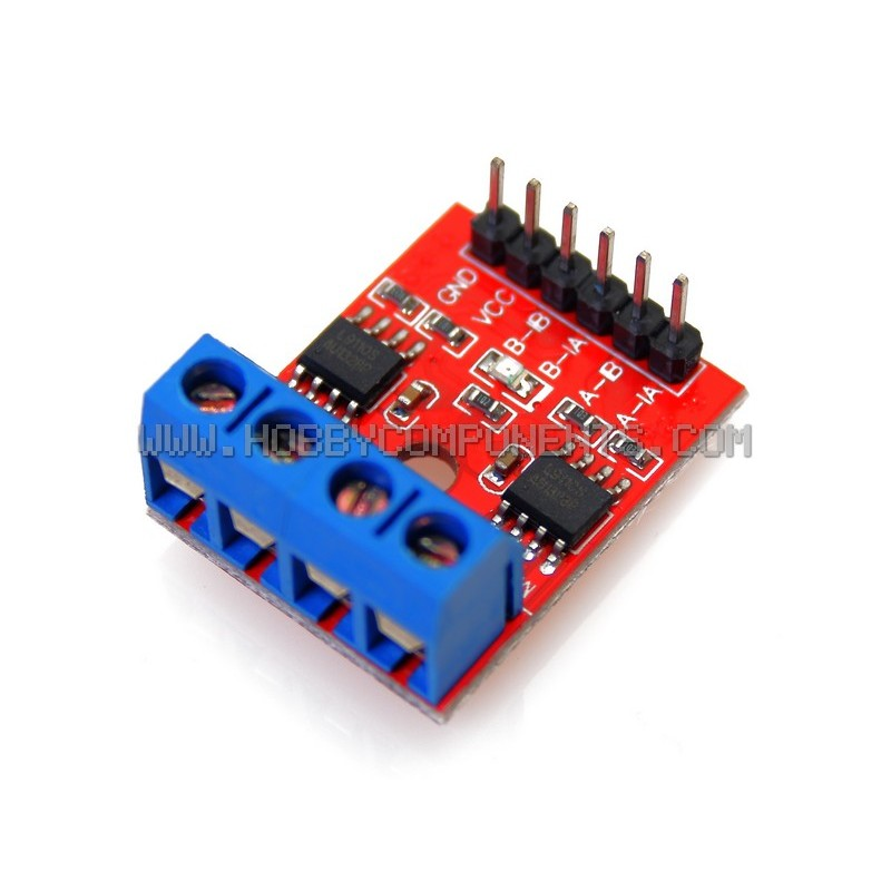L9110S DC Stepper Motor Driver H-Bridge for Arduino 2.5-12v 800mA TTL/CMOS