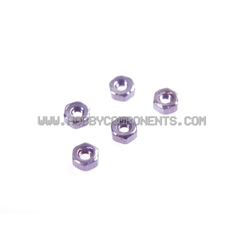 M1.2 x 6mm Nut Pack (5)