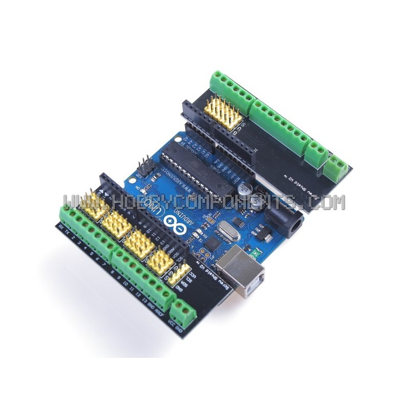 Screw Shield for Arduino Development Boards